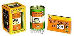 Peanuts Psychiatric Help Kit the Doctor is in Lucy Charlie Brown Snoopy
