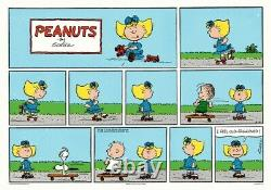 Peanuts Skateboard Charles Schulz Charlie Brown/Snoopy Print/Poster MONDO