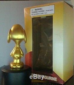 Peanuts Snoopy Charlie Brown The Peanuts Movie Oscar Figurine Extremly Rare