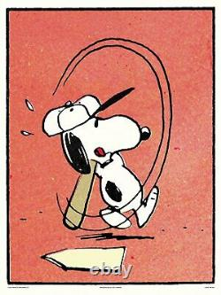 Peanuts Whiff Charlie Brown- Snoopy Charles Schulz XXX/175 Mondo