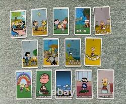 RARE Peanuts Tarot Deck 78 Cards OOP Charlie Brown, Snoopy, Lucy, Linus