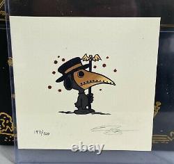 Raid71 PLAGUE DOCTOR Resin Figure Gold Variant Snoopy Thornley + PRINT! X/200