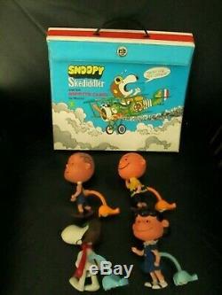 Rare Vintage Peanuts Gang Skediddler Sopwith Camel Snoopy Charlie Brown Linus