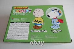 SNOOPY ASTRONAUT CHARLIE BROWN 100% Medicom Kubrick NEW Showcase Vol. 3 not kaws