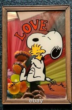 Snoopy Charlie Brown Mirror Collection x 10 Very old and Rare