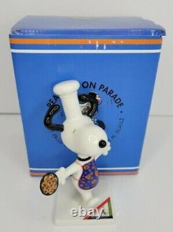 Snoopy Charlie Brown Westland Giftware Peanuts On Parade Baking Snoopy #8409