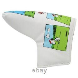 Snoopy Charlie Brown golf putter blade pin type head cover Peanuts comics