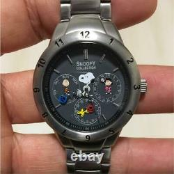 Snoopy Collection Watch Rare Charlie Brown Lucy Woodstock Used Excellent
