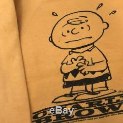 Spruce Snoopy Thick Sweat Original 60s Vintage Men's Charlie Brown Size M Used