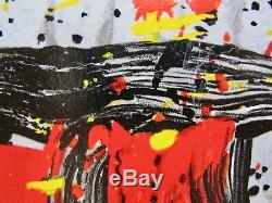 TOM EVERHART MON AMI Hand Signed Ltd Edition Lithograph SNOOPY CHARLIE BROWN