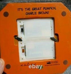 The Danbury Mint Peanuts Its The Great Pumpkin Charlie Brown Lighted Pumpkin