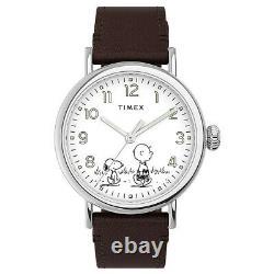 Timex Standard x Peanuts Snoopy Charlie Brown Edition Watch TW2U71000