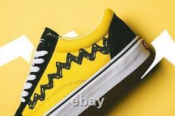 VANS Old Skool Peanuts Charlie Brown UK 11 US 12 EUR 46 Vault Sk8-Hi Snoopy Era