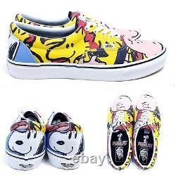 VANS x Peanuts Charlie Brown & The Gang Mens 11 Shoes Snoopy Era Skate Sneakers