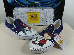Vans Og Classic Slip On X Peanuts Charlie Brown Christmas Tree