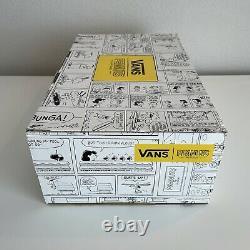 Vans Sk8-Hi Peanuts Charlie Brown Snoopy Size 10.5 MINT GEM RARE LIMITED EDITION