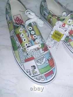 Vans x PEANUTS Comics Mens Shoes (NEW) Authentic SNOOPY Charlie Brown