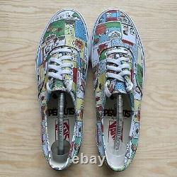 Vans x PEANUTS Comics Mens Shoes Size 11.5 Authentic SNOOPY Charlie Brown