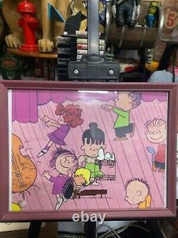 Vintage 1978 Peanuts Snoopy Charlie Brown Linus Film Animation Cel Original