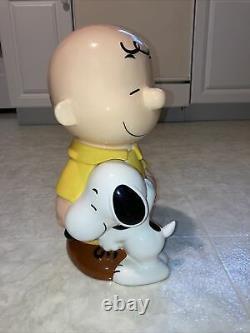 Westland Giftware Peanuts Charlie Brown Snoopy Cookie Jar #20716 2010 Vintage