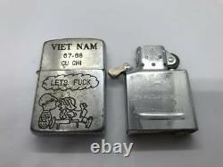 Zippo Limited Lighter VIET NAM Full Metal Jacket Snoopy charlie brown 1967