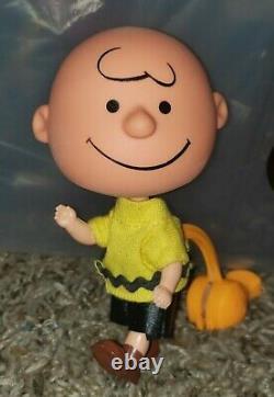 1968 Mattel Liddle Kiddles Snoopy, Lucy & Charlie Brown Set Skediddlers Vintage