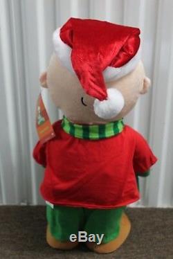 2-set Snoopy & Brown Charlie Greeters 21 Peanuts Décoration De Noël En Peluche Nouveau