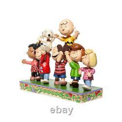 7.5 Une Grande Fête Figurine De La Collection Peanuts By Jim Shore