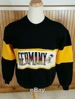 80s Vintage 70s Snoopy Charlie Brown Allemagne Sweat-shirt USA Peanuts Red Baron L