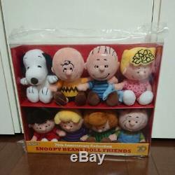 Arachides 70e Beans Doll Amis Ensemble Snoopy En Peluche Charlie Brun En Peluche