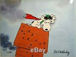 Arachides Cel Red Baron Snoopy La Grande Citrouille Charlie Brown Bill Melendez