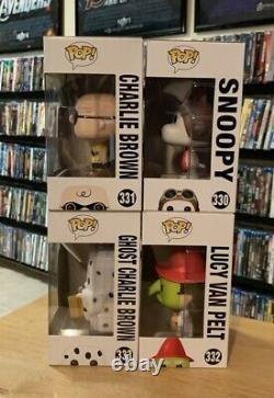 Arachides Halloween Funko Pop # 330 Snoopy # 331 Charlie Brown # 332 Lucy # 333 Fantôme