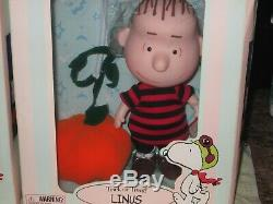Arachides Par Madame Alexander Linus Lucy Brown & Charlie Snoopy Trick Or Treat