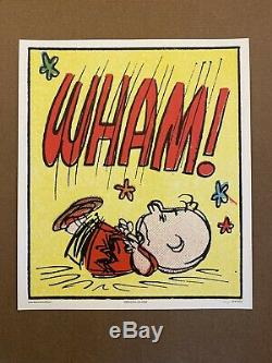 Arachides Wham! Charles Schulz Charlie Brown Snoopy Imprimer Mondo Poster