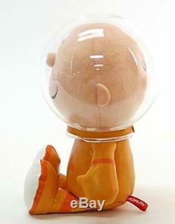 Astronaute Snoopy Charlie Brown Arachide 50e Anniversaire Peluche H / 18cm 2régler