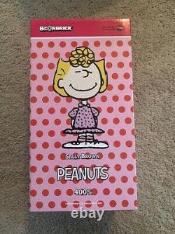 Authentique Medicom Be@rbrick The Peanuts Snoopy 400% Sally Brown Bearbrick