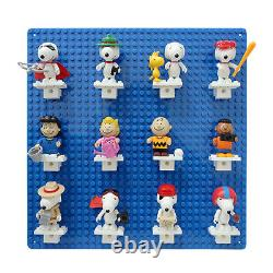 Banbao Peanuts Gang Snoopy 12 Minifigures Minifig Building Block Set
