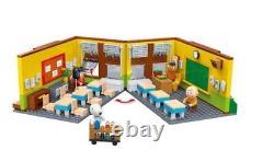 Banbao Snoopy School School Construction Block Set 595 Collection D'arachides Pcs