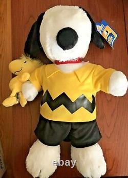 Bâtir Un Film D'arachides D'ours Snoopy & Woodstock Wristie Charlie Brown Outfit Euc