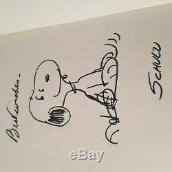 Charles M Schulz Signé Snoopy Peanuts Charlie Brown Combien De Temps Great Pumpkin
