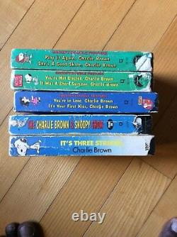 Charlie Brown Et Snoopy Collection Vhs (lot Of 14 Vhs)