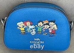 Coach X Peanut Graham Crossbody Avec Charlie Brown Friends Style 6490 T.n.-o. Nouveau