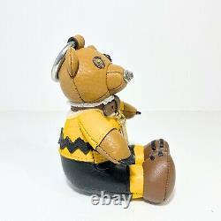 Coach X Snoopy Peanuts Charlie Brown Bear Porte-clés Sac Ou Sac À Dos Charm T.n.-o.