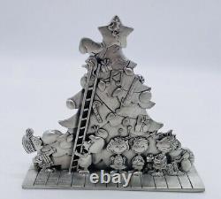 Collection D'arachides Pewter De L'écrevisse De Noël Figure Snoopy Charlie Brown