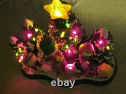 Danbury Menthe Crazout Christmas De Noël Est ICI Charlie Brown Snoopy & Friends