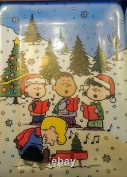 Danbury Mint Christmas Avec Charlie Brown Peanuts Snoopy