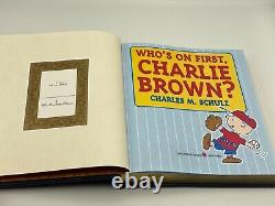 Easton Press Whos On First Charlie Brown Baseball Peanuts Collectors Edition Lt