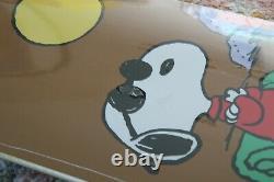 Élément De L'appleyard X Péléments Péléments Péléments Charlie Brown Snoopy Skate Wall Art