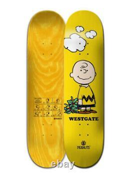 Element Skateboards X Peanuts Charlie Brown Westgate Deck 8,00 Pouces Nouvelle Snoopy