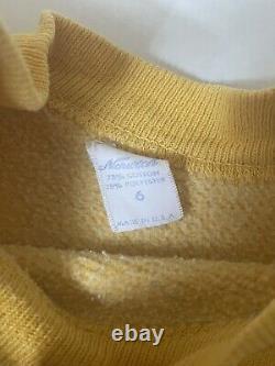 Enfants Des Années 1960 Vintage Peanuts Charlie Brown Snoopy Sweatshirt Norwich Mayo Spruce